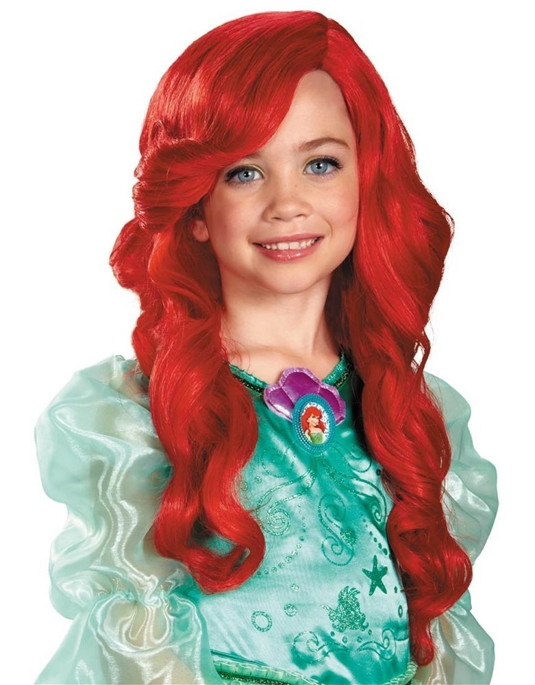 Picture of The Little Mermaid Ariel Child Wig