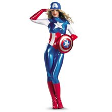 Picture of American Dream Bodysuit Adult Womens Costume