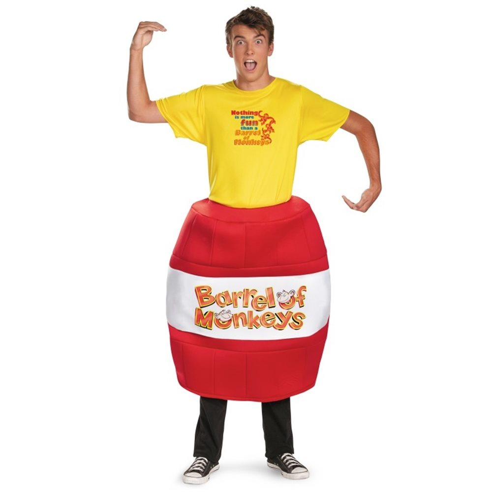 Picture of Barrel Of Monkeys Deluxe Adult Mens Costume
