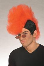 Picture of Black And Red Rant-N-Rave Wig