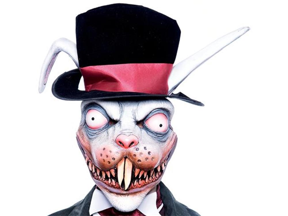 Brand New Alice in Wonderland White Rabbit Adult Headpiece