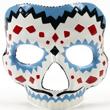 Picture of Day of the Dead Male Costume Adult Mask