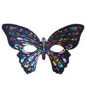 Picture of Rainbow Butterfly Party Mask