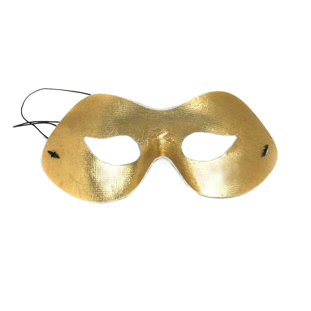 Picture of Party Wear Gold Half Mask