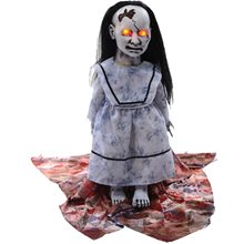 Picture of Graveyard Dolly Lunging Animated Prop