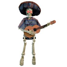 Picture of Skeleton Playing Guitar Animated Prop