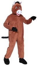 Picture of Horse Jumpsuit Mascot Costume