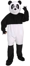 Picture of Panda Jumpsuit Mascot Costume