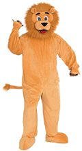 Picture of Lion Jumpsuit Mascot Costume