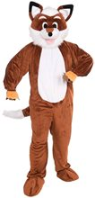 Picture of Fox Jumpsuit Mascot Costume
