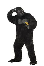 Picture of Gorilla Furry Adult Costume