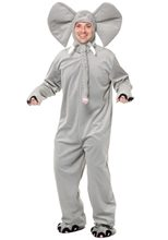 Picture of Grey Elephant Adult Costume
