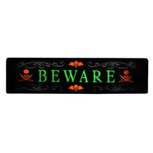 Picture of Night Glow Beware Sign