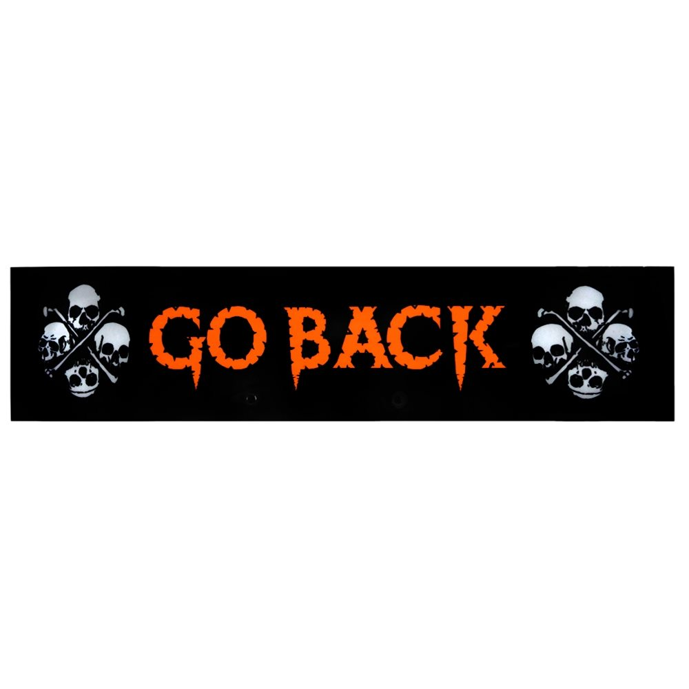 Picture of Night Glow Go Back Sign