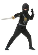 Picture of Ninja Avenger Series Black Child Costume