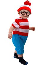 Picture of Waldo Infant Onesie Costume