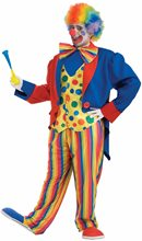 Picture of Clown Plus Size Adult Mens Costume