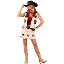 Picture of Sexy Cowgirl Adult Costume