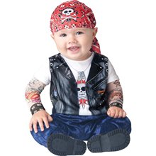Picture of Born Wild Biker Toddler Costume