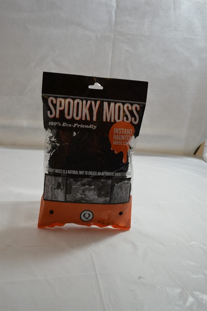 Picture of Spooky Black Preserved Moss