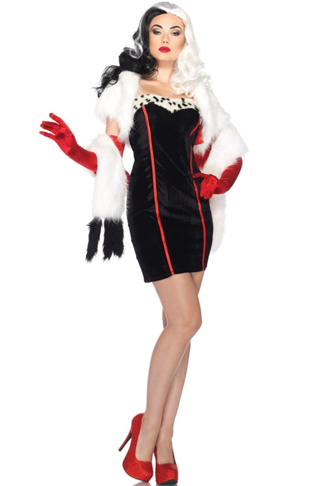 Picture of Cruella Adult Womens Costume