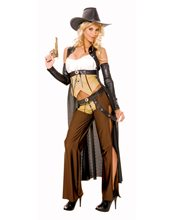 Picture of Wanted Cowgirl Adult Womens Costume