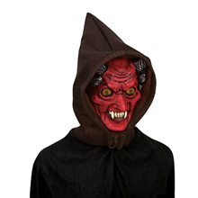 Picture of Hologram Hoodie Devil Mask