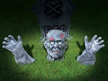Picture of Zombie Ground Breaker Lawn Decoration