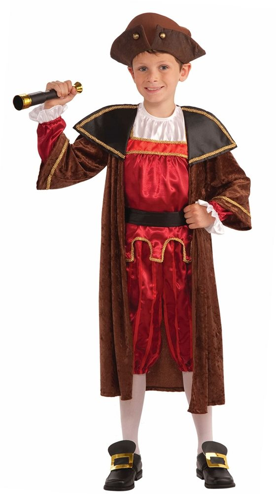 Picture of Christopher Columbus Child Costume