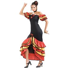 Picture of Spanish Lady Adult Womens Costume