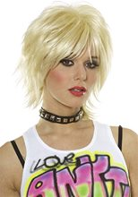 Picture of 80s Adult Unisex Blonde Wig