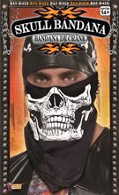 Picture of Black Skull Face Bandana