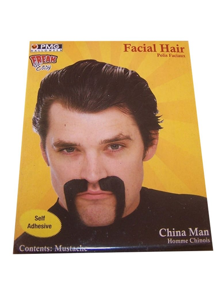 Picture of China Man Black Mustache