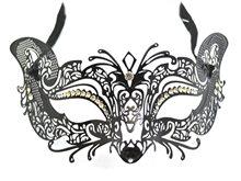 Picture of Metal Venetian Mask Black
