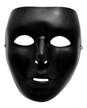 Picture of Full Face Black Mask