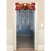 Picture of Creepy Carnival Doorway Curtain