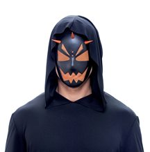 Picture of Spiked Hardcore Orange Adult Mask