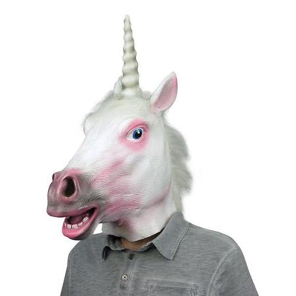 Picture of Unicorn Latex Mask