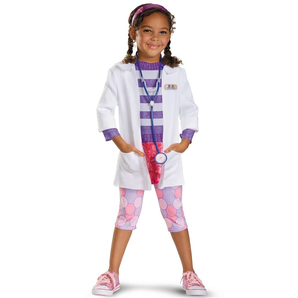 Picture of Doc McStuffins Deluxe Toddler & Child Costume