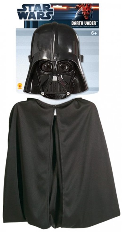 Picture of Star Wars Darth Vader Childs Cape And Mask Set