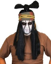 Picture of Lone Ranger Tonto Costume Wig