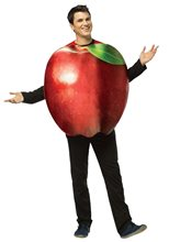 Picture of Realistic Apple Adult Unisex Costume