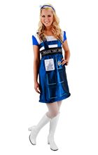 Picture of Doctor Who TARDIS Dress Womens Costume