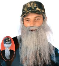 Picture of Hunting Man Camo Cap and Beard Set