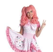 Picture of Pink Pigtails Cosplay Wig
