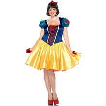 Picture of Classic Snow White Plus Size Adult Womens Costume