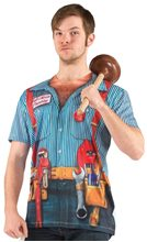 Picture of Plumber Adult Mens Shirt