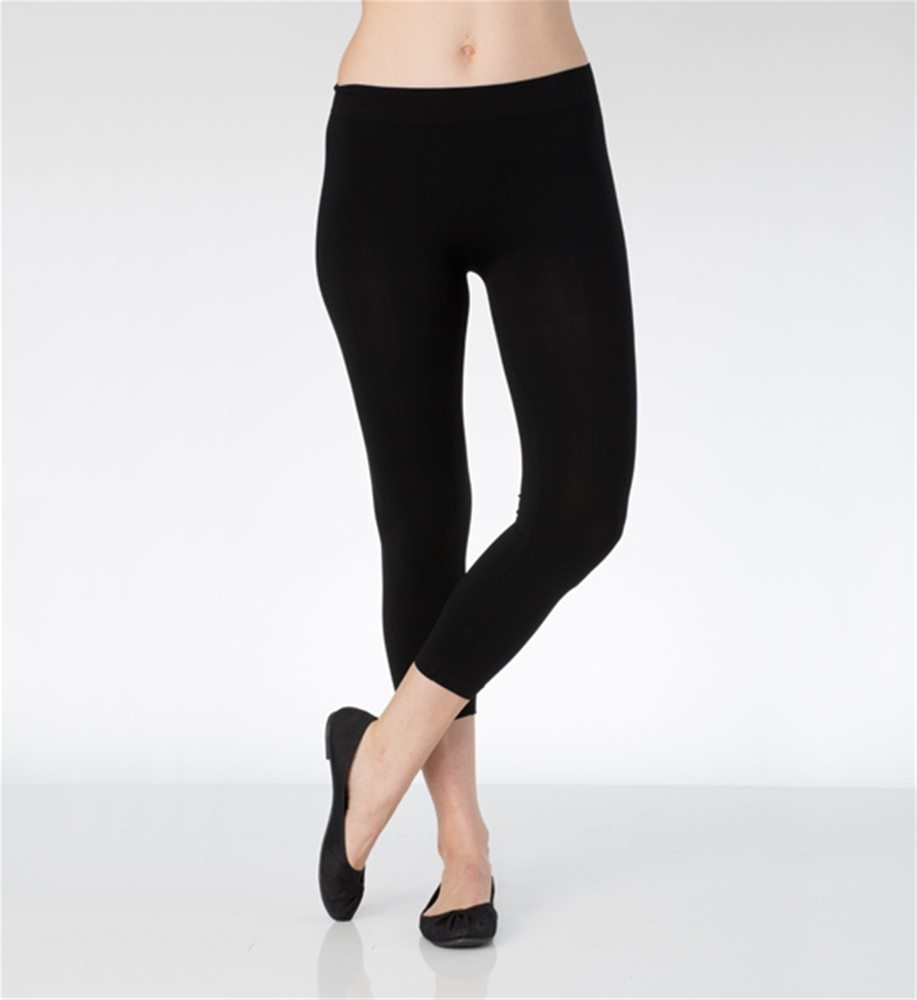 Picture of Black Adult Womens Leggings
