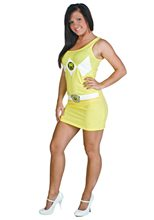 Picture of Power Ranger Yellow Tank Dress