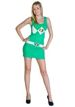 Picture of Power Ranger Green Tank Dress